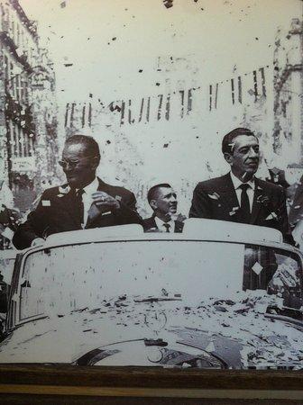 Josip Broz Tito Mausoleum: picture displayed