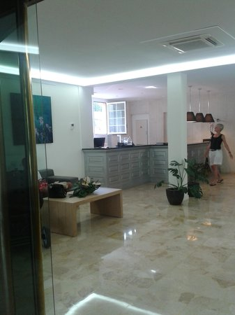 SENTIDO Porto Soller: Hotel Reception
