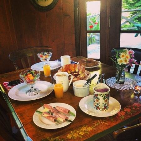 Old Northern Inn: our beautifully delicious breakfast