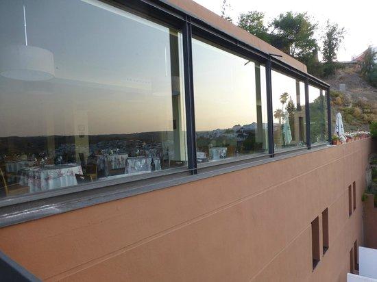 Mirador de Montoro: Restaurant von außen