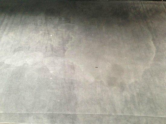 Signature Living at Matthew Street: staining on the window seat
