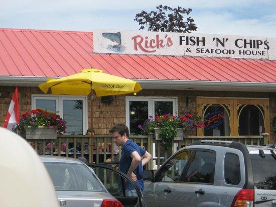 Rick's Fish & Chips: Ricks Fish & Chips