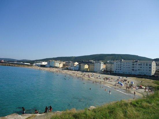Hotel Palacio de Cristal: Playa Portelo-Burela en  Julio 2013