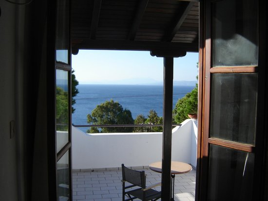 Areti Studios and Appartments: Sept balcony view