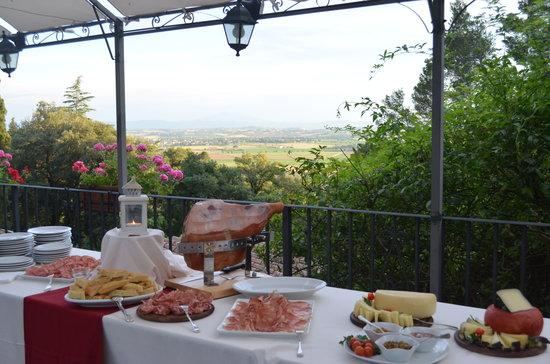 Ristorante Villa Schiatti: Antipasto a buffet