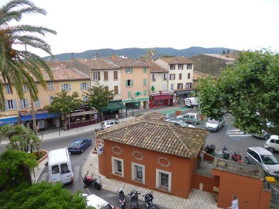 Coq Hotel: vue de la chambre