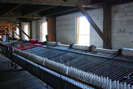 Upper Canada Village: wool factory