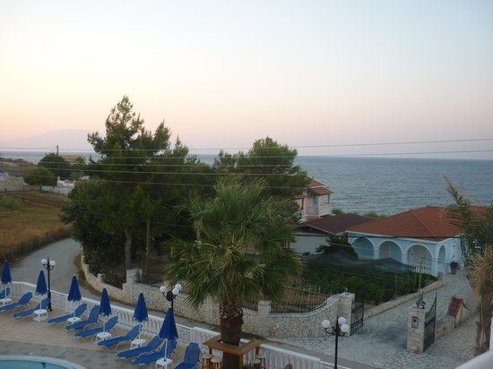Arkadia Hotel: Il mare dalla camera