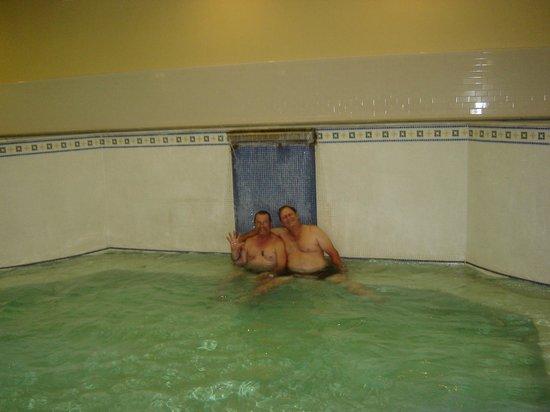 Quapaw Bathhouse: Phil & Ron