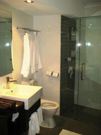 Hotel Urban Brisbane : Bathroom with shower