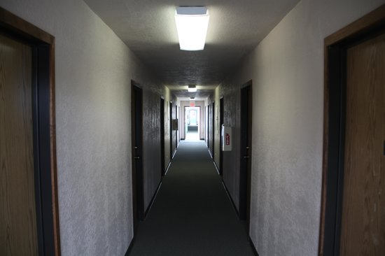 The Orca Inn: The hallways