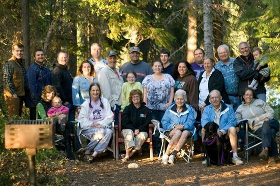 Cultus Lake Resort: Our Group