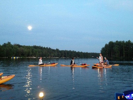 Full Moon Paddleboard: Full moon in July