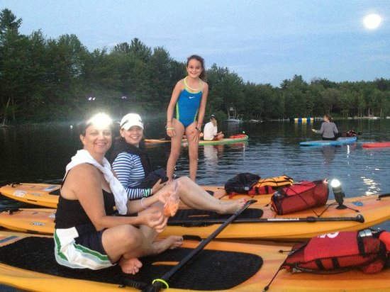 Full Moon Paddleboard: Family Full Moon SUP adventure