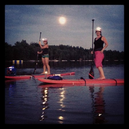 Full Moon Paddleboard: Full Moon Paddling in July