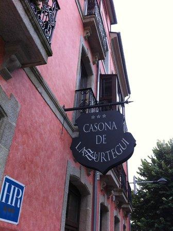Hotel Casona de Lazurtegui: prachtig gebouw;binnen ook heel mooi