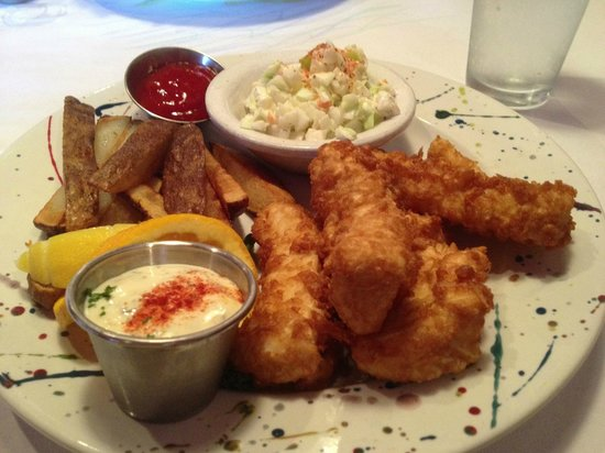 Silver Salmon Grille: the BEST fish and chips ever