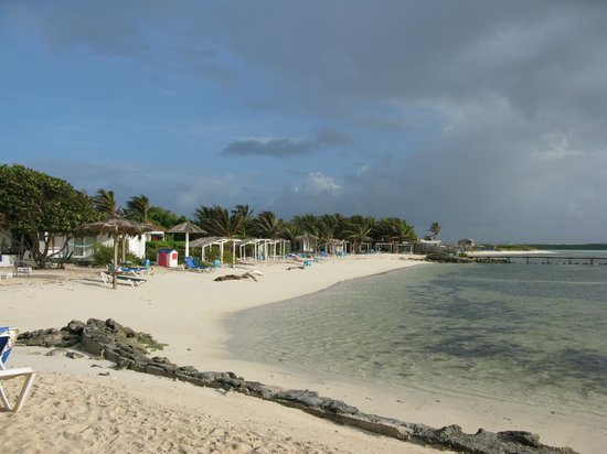 Sorobon Beach & Wellness Resort : Cottages on the beach