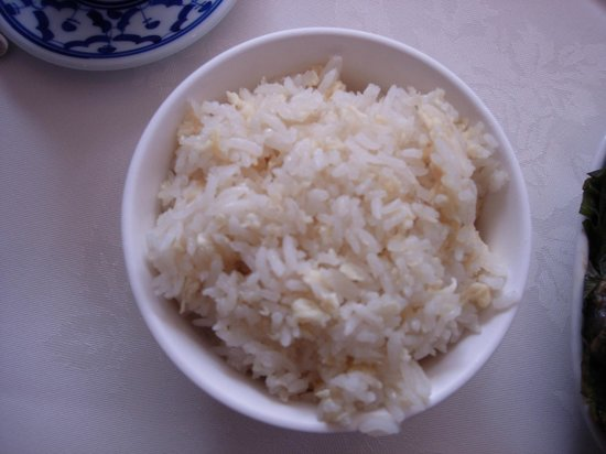 Bangkok Brasserie : Egg fried rice