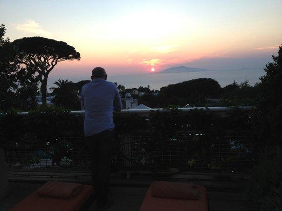 Capri Palace Hotel & Spa: Tramonto unique