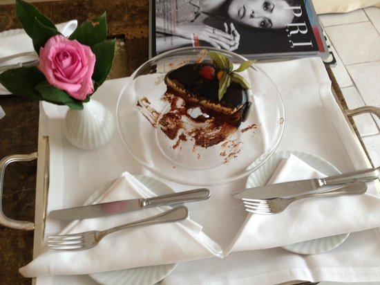 Capri Palace Hotel & Spa: Torta strepiii!!