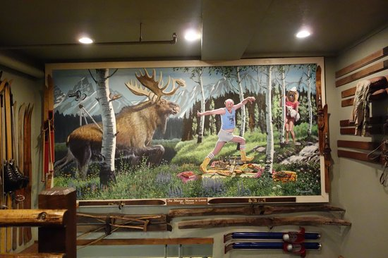 Mangy Moose Restaurant and Saloon: Mangy Moose Saloon, Jackson Hole (Teton Village), Wyoming