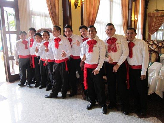 Hotel Riu Palace Las Americas: mexican night at the buffet