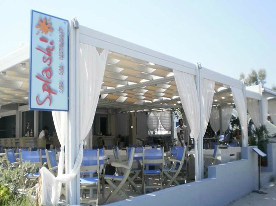 Soul by Splash: Splash Cafe Bar Restaurant Santorini
