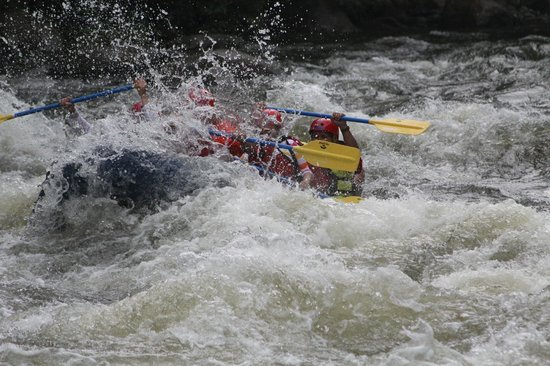 Big Creek Expeditions: Awesome Rafting Experience! Upper River Rafting.