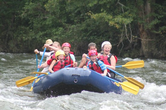 Big Creek Expeditions: Lower River ride with the Kids, they loved it!