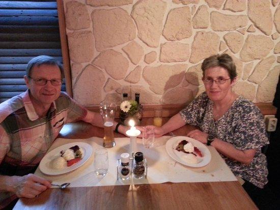 Hotel SnowWorld Landgraaf: Anniversary meal in the Matterhorn Restaurant