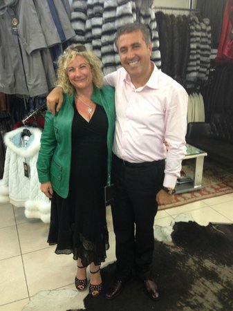 Kusadasi Leather: The Impeccable Ozzy and My Fabulous Green Leather Jacket!
