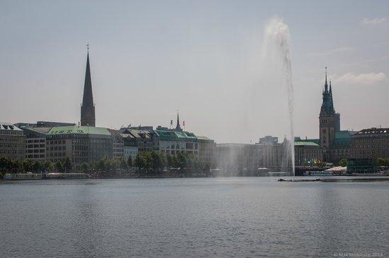 Binnenalster: Fountain