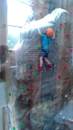 Ambleside Climbing Wall: view from cafe
