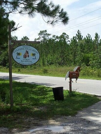 Arnett's Gulfside Trail Rides: Entrance