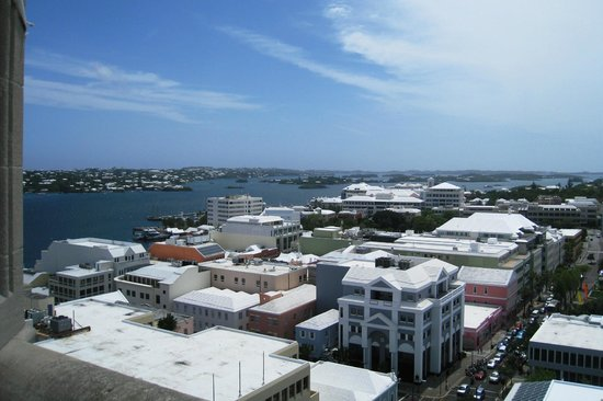 Cathedral of the Most Holy Trinity (Bermuda Cathedral): View from the tower