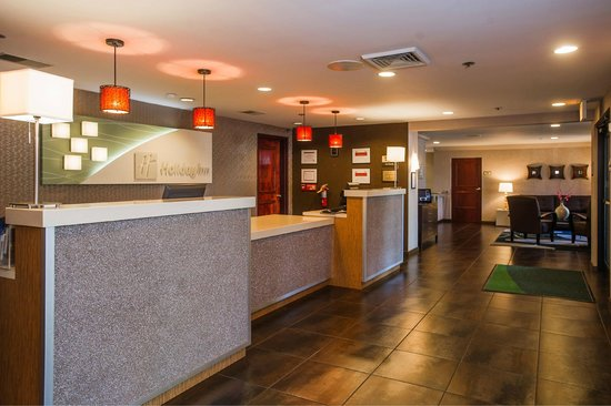 Hotel Lobby Reception Desk Picture Of Holiday Inn