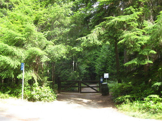 Heritage Forest : Chester Road entrance.