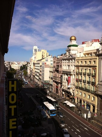 View From My Balcony Picture Of Hotel Regina Madrid