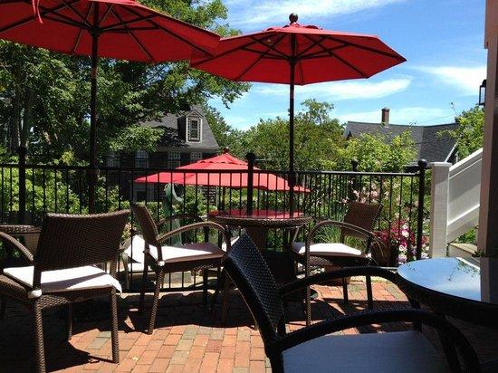 The Veranda House Hotel Collection: Back deck