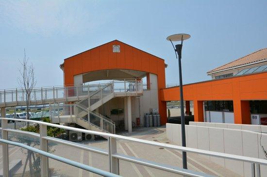 Michi-no-Eki Akabane Loco Station : 展望テラス