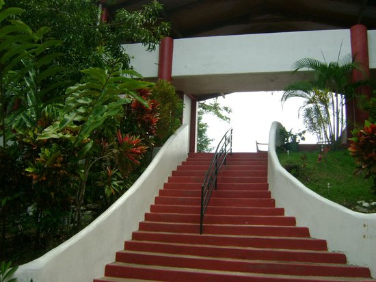 Hotel California: Stairs to rooms