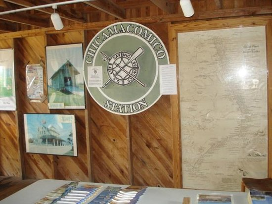 Chicamacomico Life-Saving Station Historic Site & Museum: exhibit in one of the museum buildings
