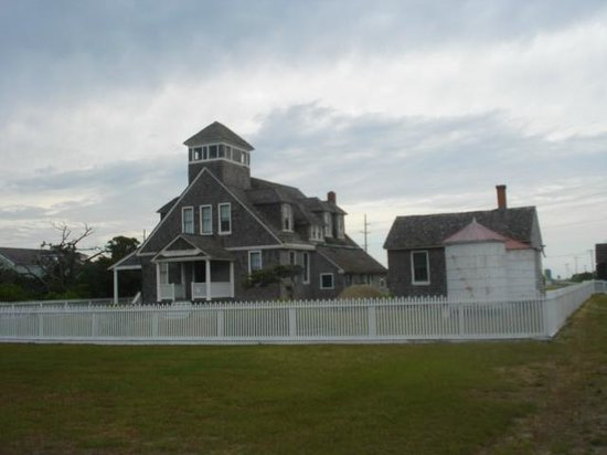 Chicamacomico Life-Saving Station Historic Site & Museum: One of the buildings on the museum site and gift shop