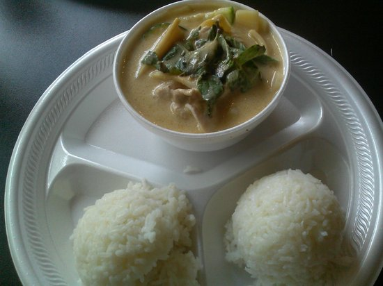 PJ's Corner: Green Curry with Chicken