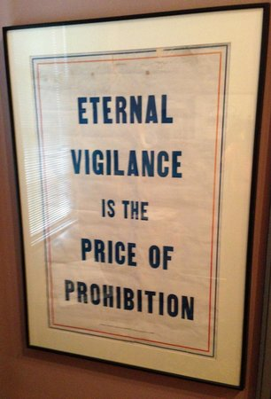 Oscar Getz Museum of Whiskey History: Prohibitionist Poster from the Oscar Getz Collection