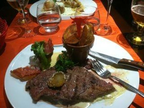 L'Ardoise: Meat and potatoes done right