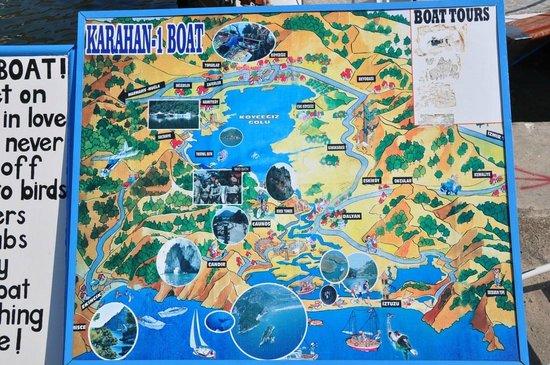 Lake Koycegiz: Boat Tour e bagno nel  lago di  Koycegiz
