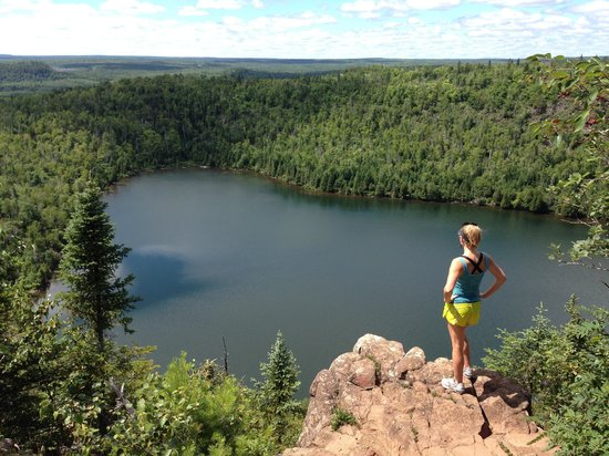 Superior Hiking Trail: Bean Lake Overlook