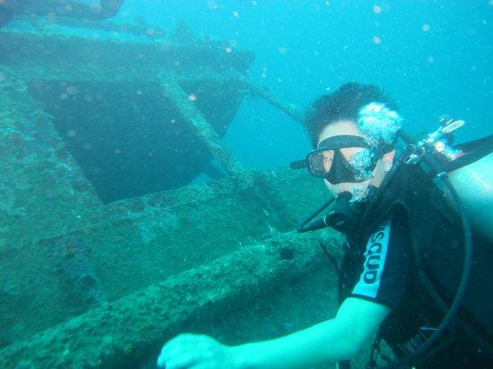 Bali Bubbles Dive Center: Daniel, my son